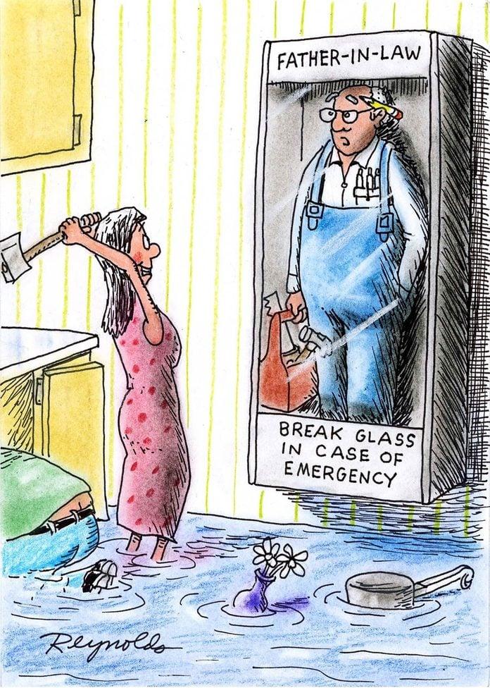 break glass cartoon