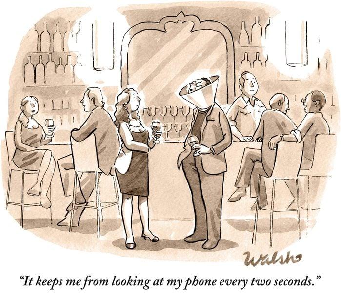 phone cone cartoon