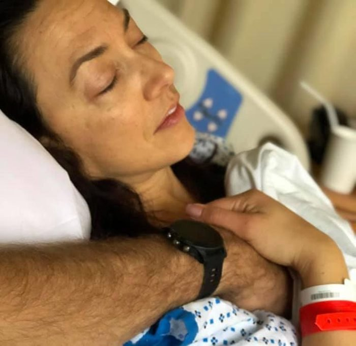 Woman was run over by a truck and survived Coma