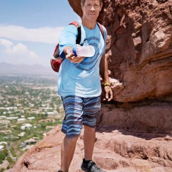 After Seeing a Tourist Die from Dehydration, This Avid Hiker Now Climbs Over 2,000 Feet a Day to Hand Out Free Water