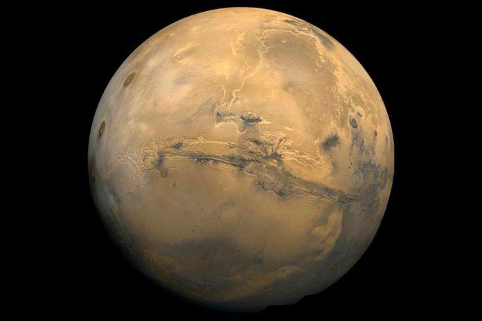 Valles Marineris: The Grand Canyon Of Mars
