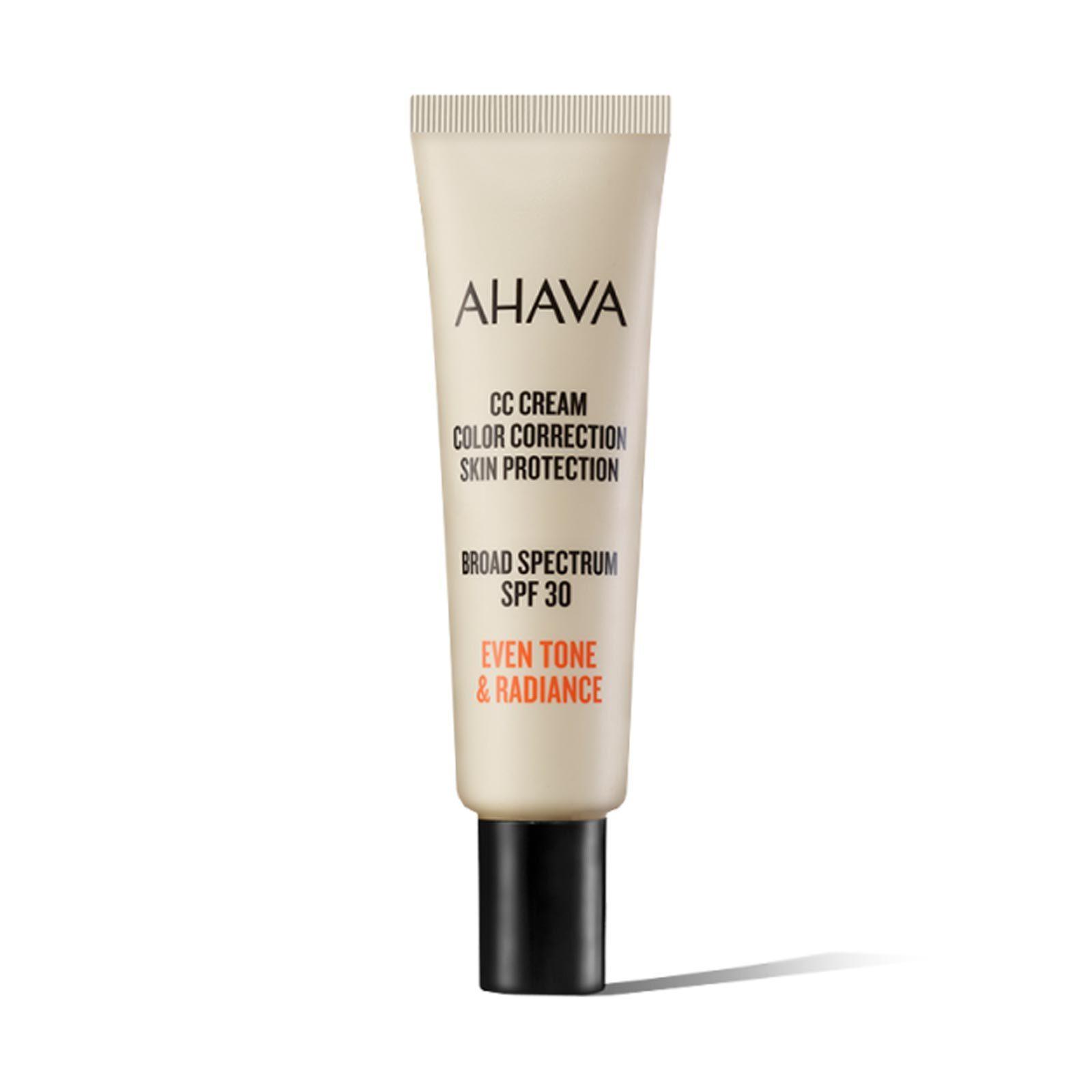 Ahava CC Cream Color Correction Skin Protection SPF 30