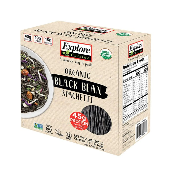 Explore Cuisine Organic Gluten-Free Black Bean Spaghetti Family Pack