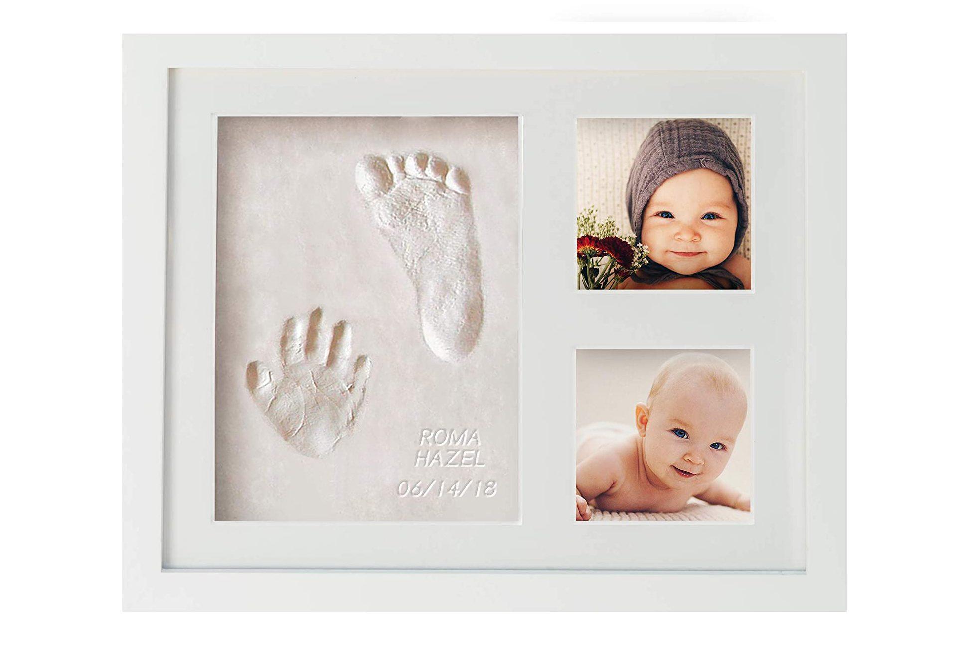 First Impressions Baby Handprint & Footprint Frame Kit