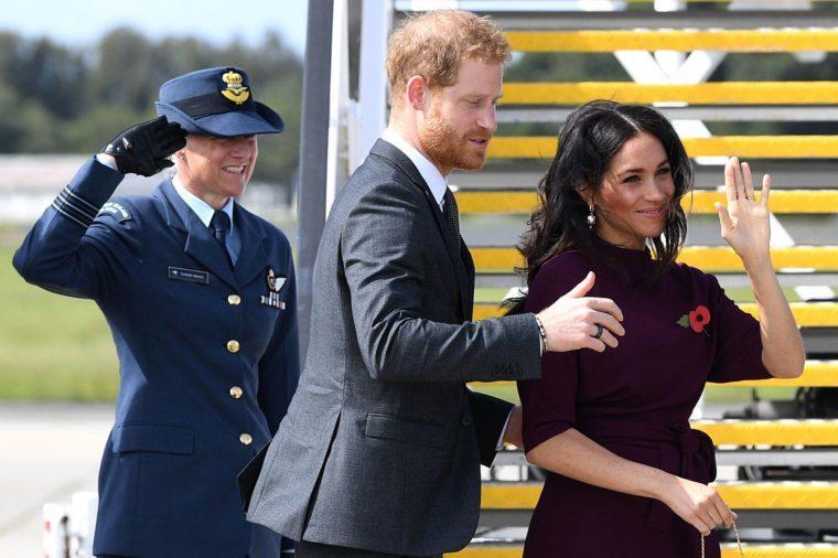 Britain's Duke and Duchess of Sussex visit Australia, Sydney - 28 Oct 2018