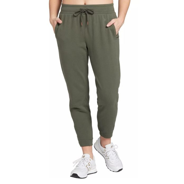 CALIA by Carrie Underwood French Terry Ankle Pants