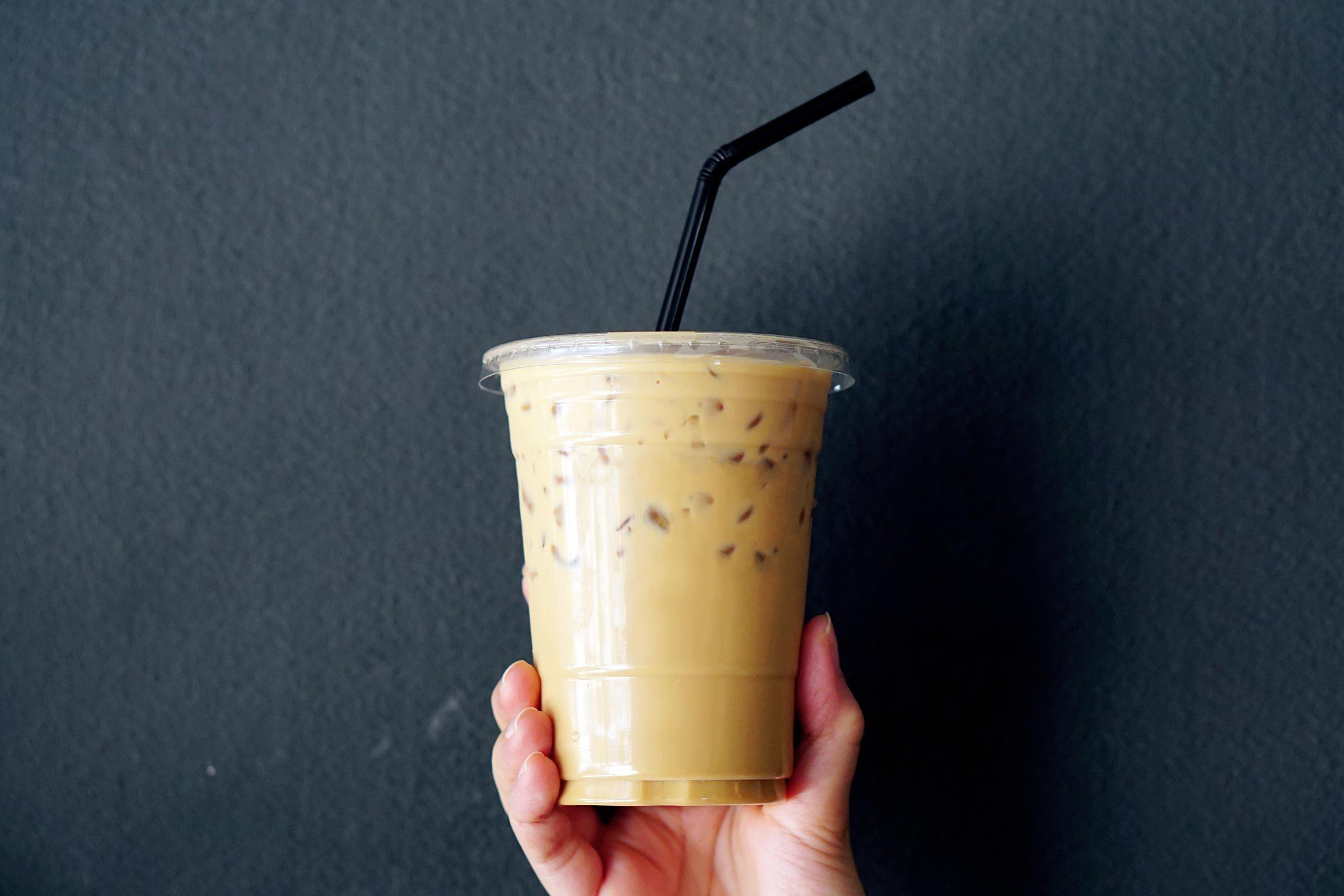 iced coffee straw