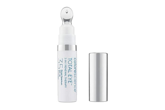 Colorescience Total Eye 3-in-1 Anti-Aging Renewal Therapy for Wrinkles & Dark Circles, SPF 35