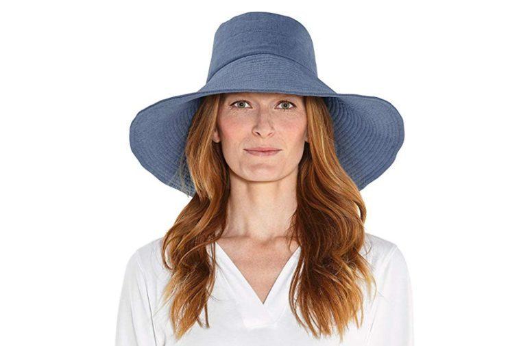 Coolibar UPF 50+ Women's Beach Hat - Sun Protective