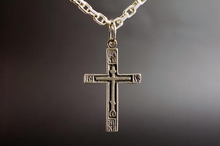 christian cross necklace religion