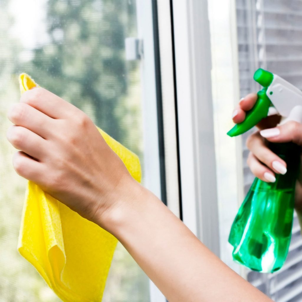 Homemade cleaners Window Cleaner