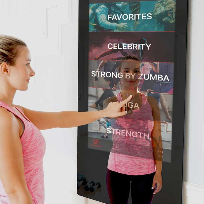 For the fitness fanatic: Echelon Reflect Touch Mirror