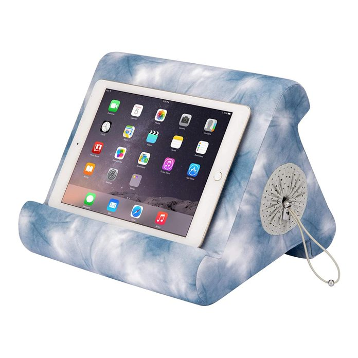 Flippy with Storage Cubby Multi-Angle Soft Pillow Lap Stand for iPads