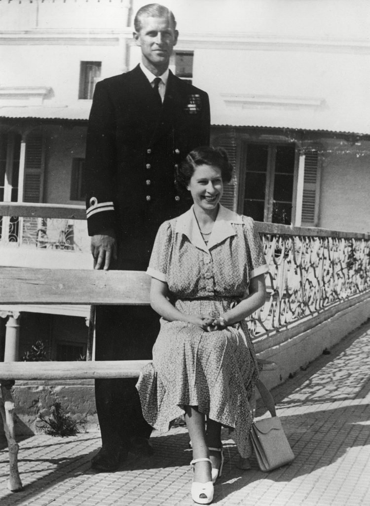 Historical Collection 172 Princess Elizabeth (queen Elizabeth Ii) Pictured Together with Her Husband Prince Philip Duke of Edinburgh During Her Visit to Malta where the Duke Was Stationed As A Naval Officer Before the Queen's Accession 1950