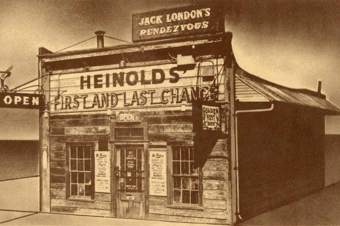 Jack London's Rendezvous, Oakland, California, Usa