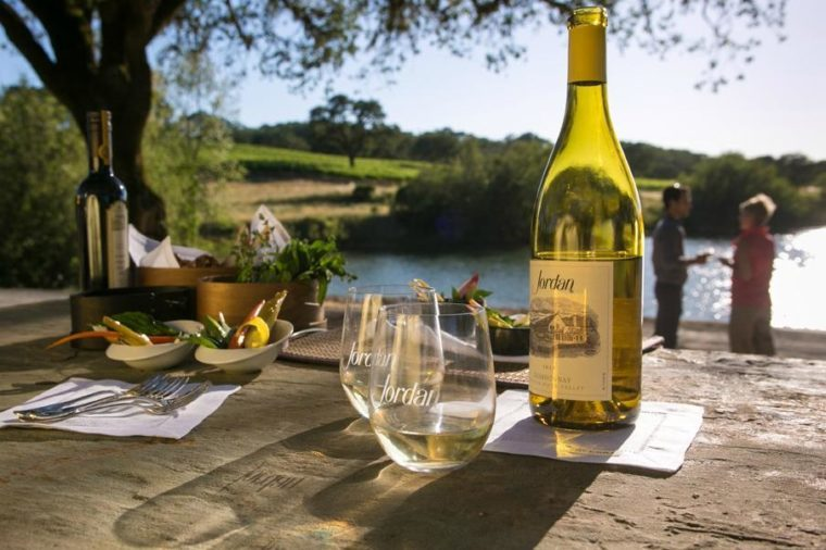 Jordan Vineyard and Winery, California