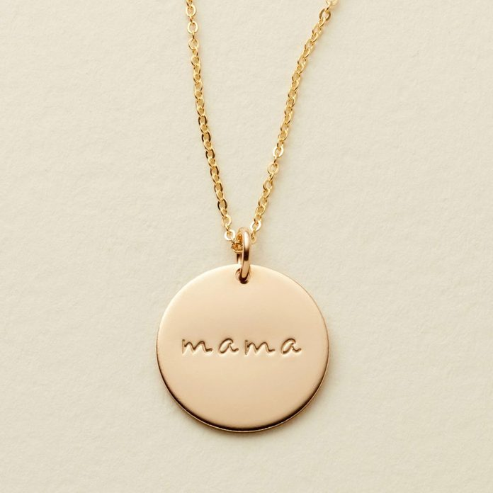 Made by Mary Mama Disc Necklace