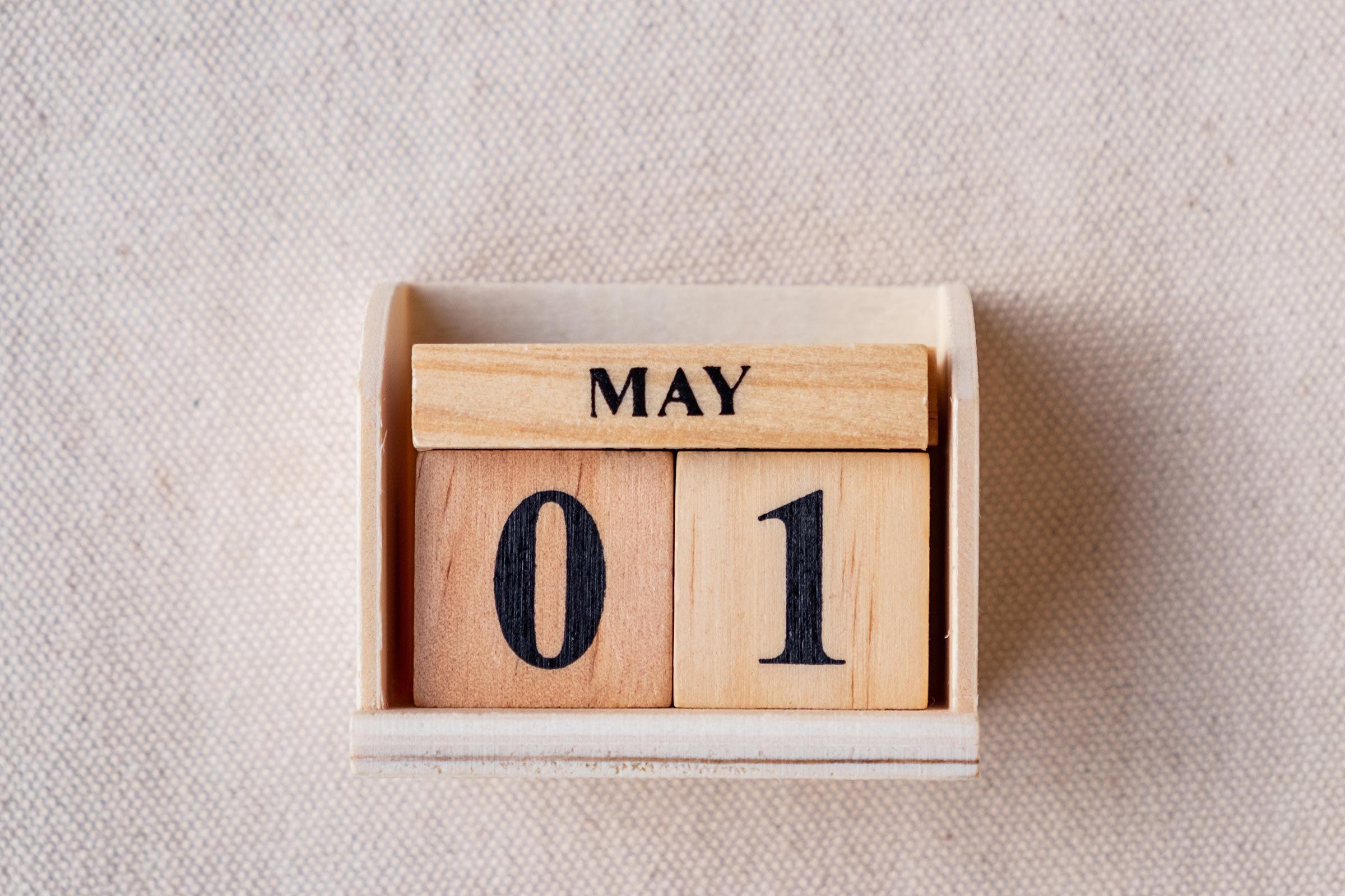 calendar may 1