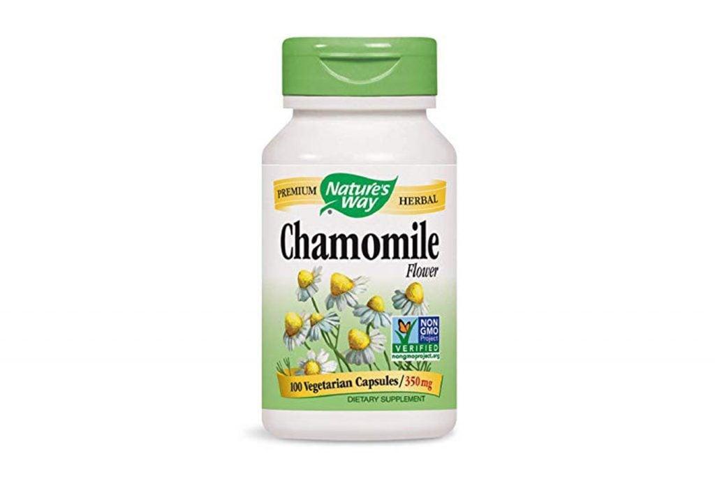 Nature's Way Chamomile Flowers , 350 mg, 100 Capsules