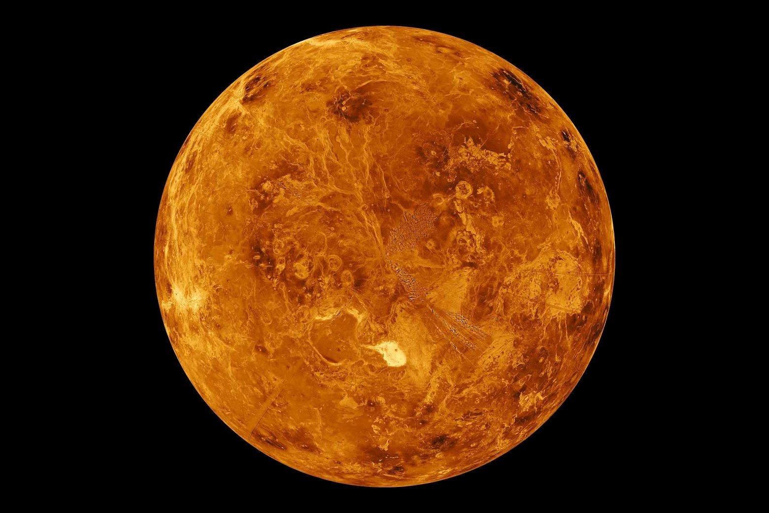 North Pole Of Venus