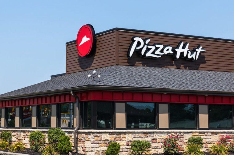 Pizza Hut Fast Casual Restaurant.
