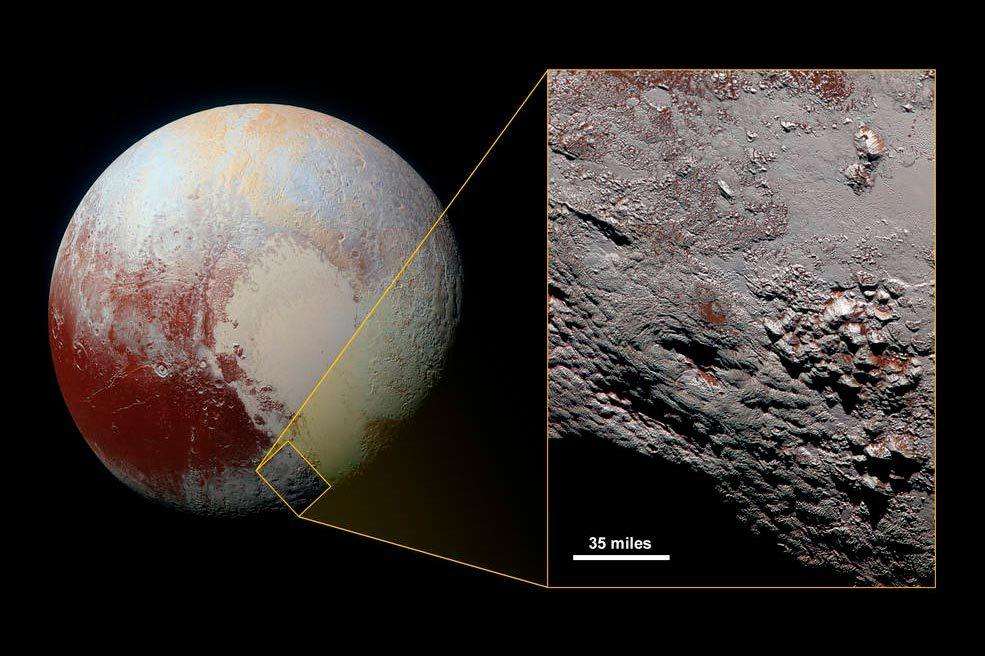 Possible Ice Volcano On Pluto