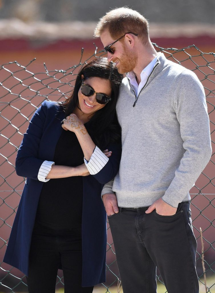 Prince Harry and Meghan Duchess of Sussex visit to Morocco - 24 Feb 2019