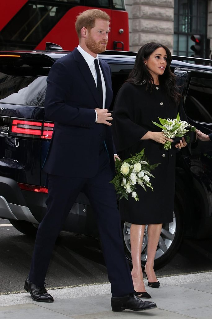 Prince Harry and Meghan Duchess of Sussex visit to New Zealand House, London, UK - 19 Mar 2019