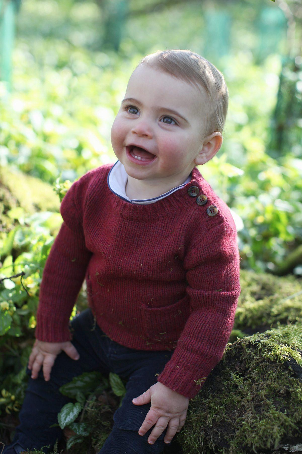 Prince Louis photoshoot