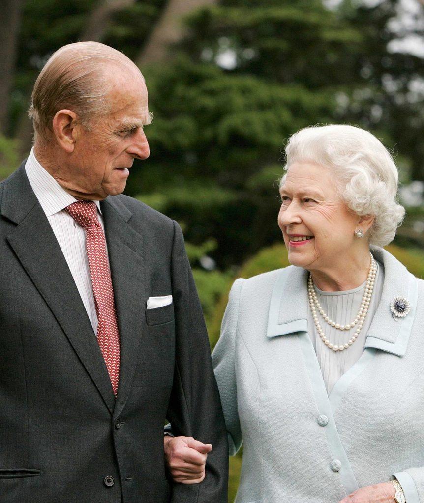 Queen Elizabeth II and Prince Philip Diamond Wedding Anniversary at Broadlands in Hampshire, Britain - 18 Nov 2007