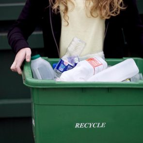 recycle recycling bin plastic