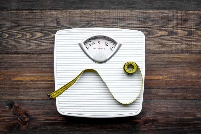 weight scale measuring tape