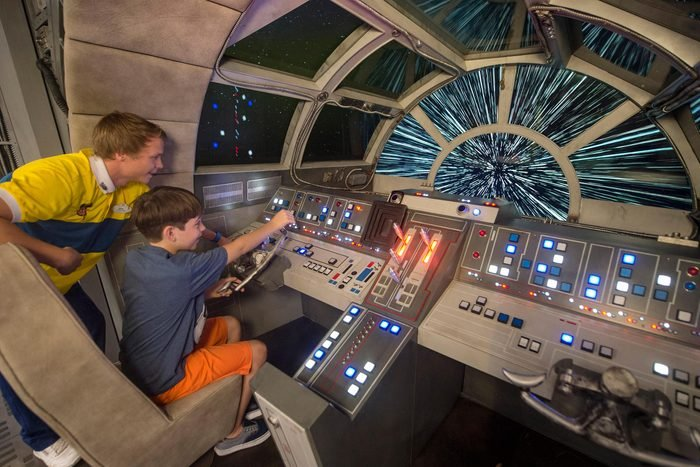 Star Wars at sea disney cruise