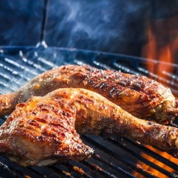 How to Grill Chicken Legs