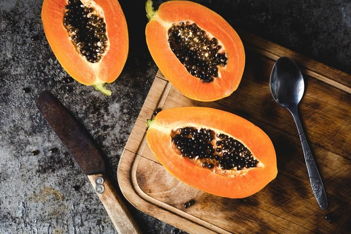 Papaya fruits-Paw paw fruits