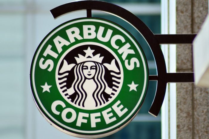 Sign Starbucks Coffee.