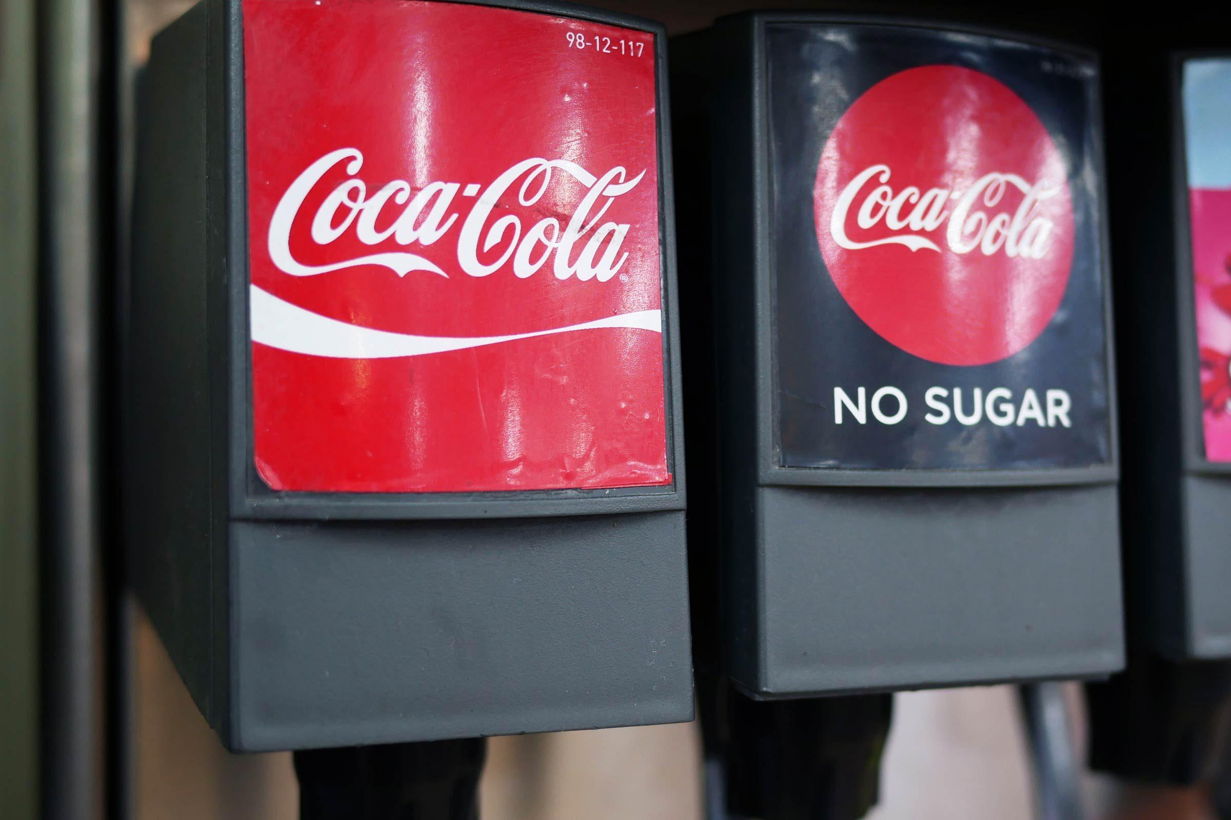 coca cola soda fountain