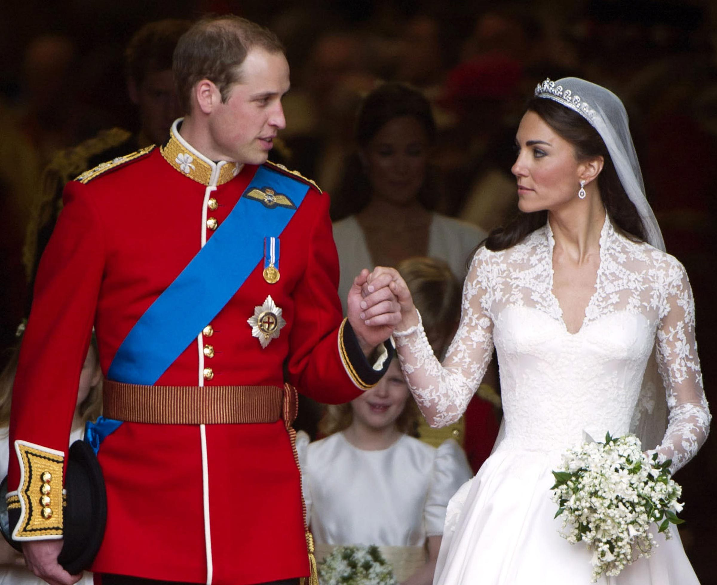 Prince William Wedding.Tiny Details About Prince William And Kate S Wedding