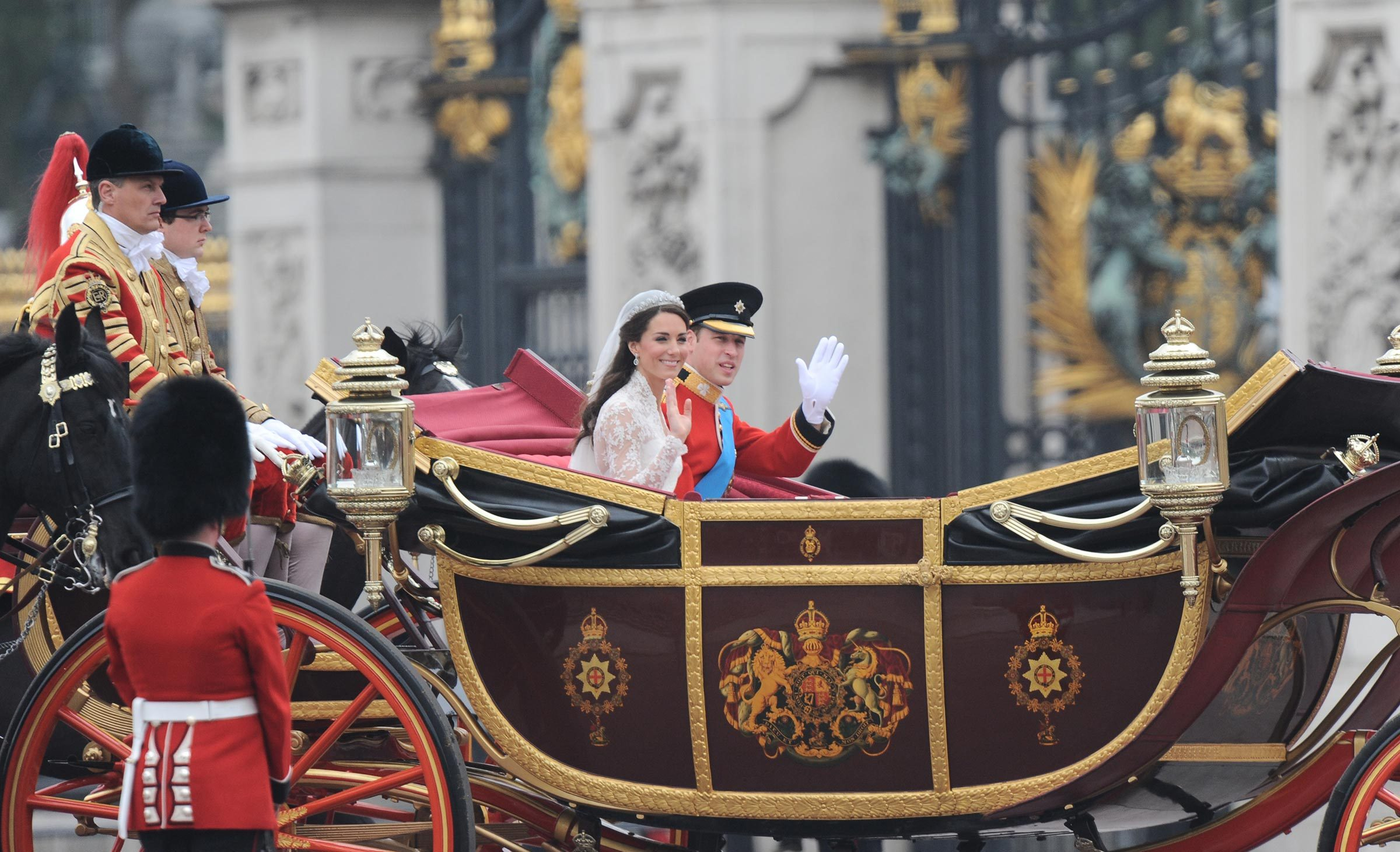 The wedding of Prince William and Catherine Middleton, London, Britain - 29 Apr 2011