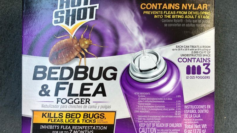 3 foggers for treating bedbugs