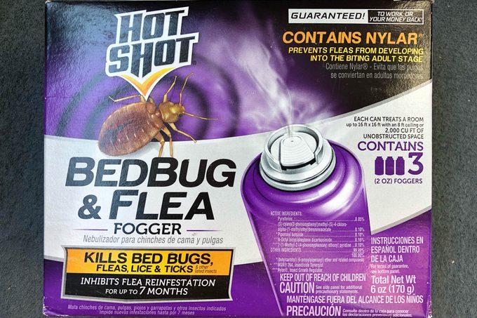 3 foggers for treating bedbugs
