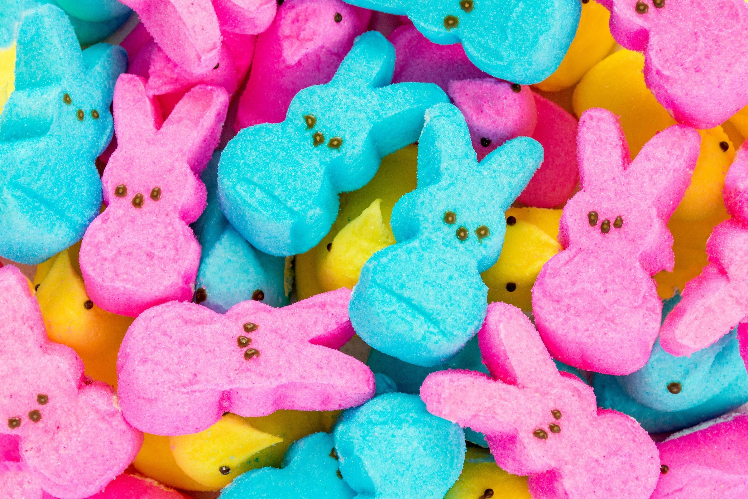 marshmallow Easter peeps