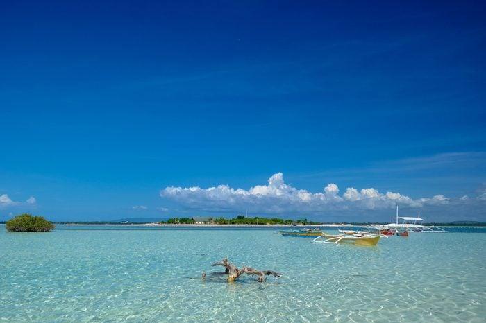 Virgin Island of Bohol, Philippines