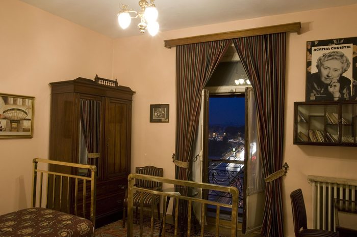 VARIOUS Pera Palas Hotel, Istanbul, Turkey. Room 411 where Agatha Christie stayed. Property Released.