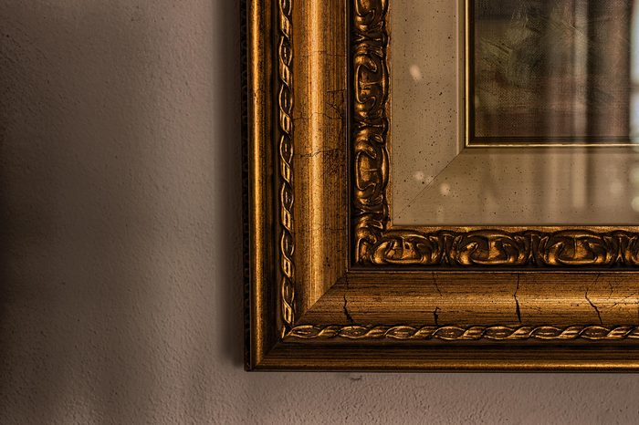 A frame of a painting