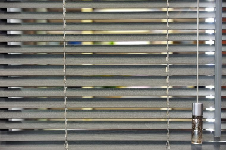 Metal blinds, background, texture