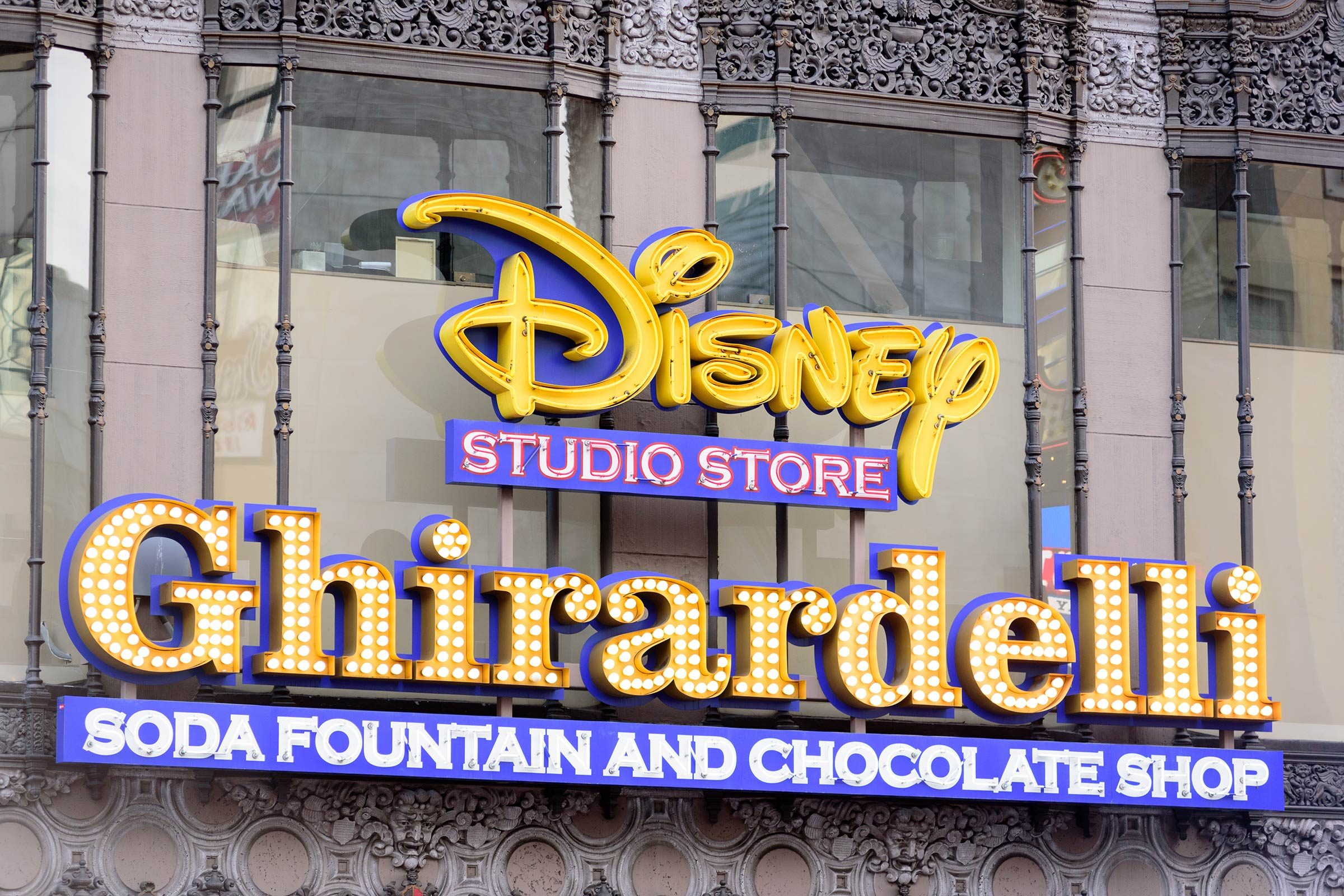 Disney Ghirardelli candy store