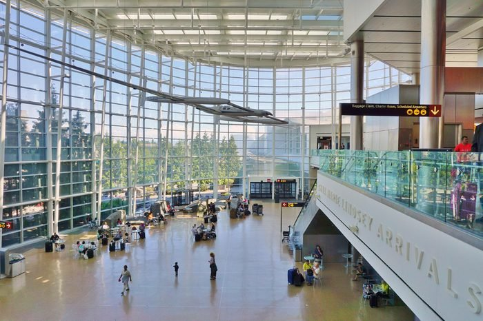 SEATTLE, WA -27 JUNE 2016- The Sea-Tac Seattle-Tacoma International Airport (SEA) is the largest airport in the Pacific Northwest of the United States. It is a main hub for Alaska Airlines.