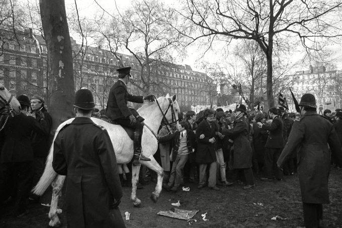 Protests of 1968, LONDON, United Kingdom England