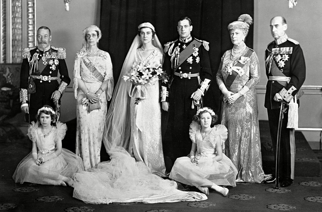 PRINCESS AS BRIDESMAID 1934, LONDON, Britain